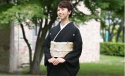 黒留袖(江戸褄)