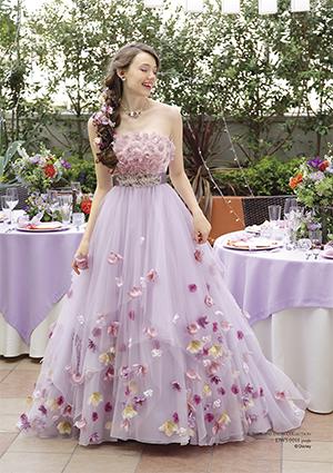 「塔の上のラプンツェル」ラプンツェルのドレス