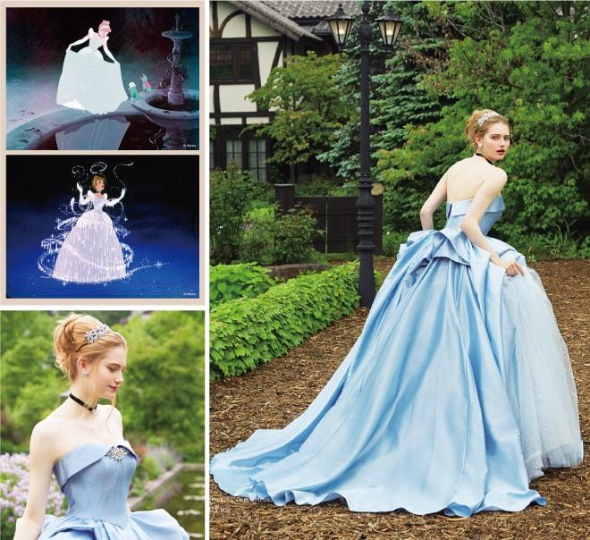 「シンデレラ」シンデレラのドレス