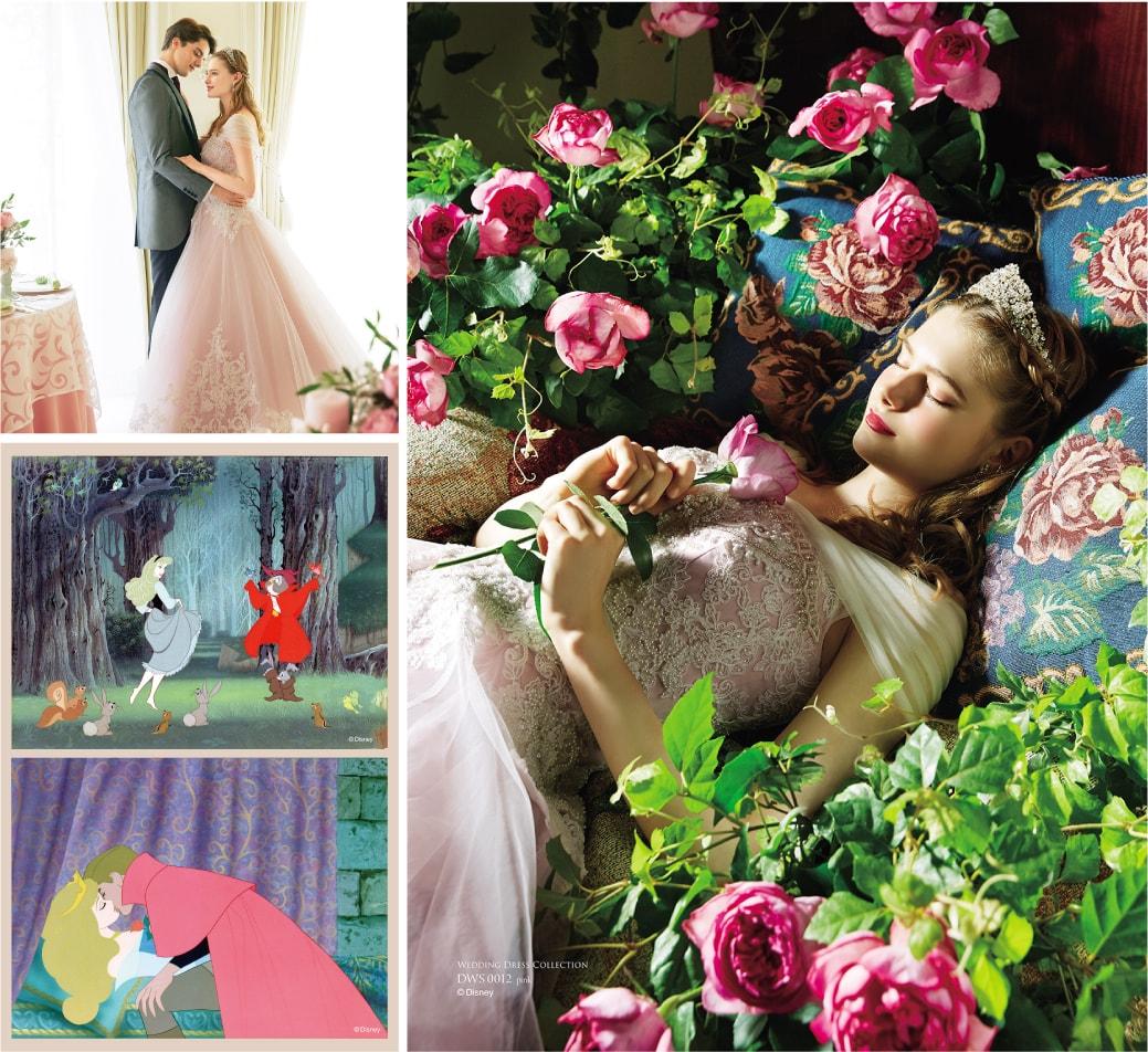 「眠れる森の美女」オーロラ姫のドレス